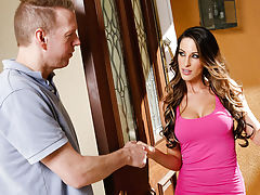 Kortney Kane is new to the neighborhood and needs to use her neighbors wifi since her internet access wont be ready for another week. Her neighbor is more than willing to let her use his wifi, but it seems like Kortney now wants more than his password, sh