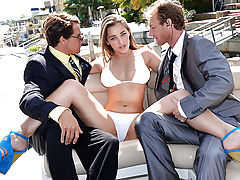 Dani Daniels was just hanging out on her boat when a couple of federal agents showed up to ruin her good time. She tried everything from bribery to seduction to keep them off of her trail, but in the end, the pair was just too determined. Dani figured, if