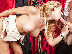 It's way too easy for rich people to go crazy and take up all kinds of weird hobbies. Ms. Cherie Deville has been playing with life-size dolls for a long time, and it's too much for her butler Johnny to handle. He takes his boss by the hand and uses every
