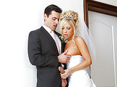 Its Tasha Reigns wedding day. Shes got a little bit of cold feet though because she realizes that she will never be able to fuck anyone else for the rest of her life. Luckily, her fiancess best man, Ryan, is there to help her out. Ryan and Tasha actually