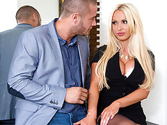 Danny just found out that his wife fucked his best bud behind his back and the only way for Danny to forgive her is to bang one of her friends. His wifes friend, Nikki Benz, had always thought Danny was hot. Dannys wife knows this, so she sends him over t