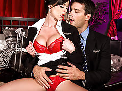 Kendra Lust has been enjoying a double life for as long as she can remember. An air stewardess by day, and a high-class call girl by night in every city she stops in. Today she's meeting with Ramon, and she's going to enjoy a fantasy of her own. She hande
