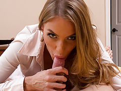 Juelz Ventura is so horny so she seduces her husband into fucking her before they have to leave.