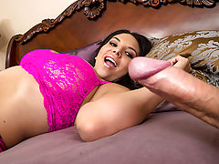 Missy Martinez and her husband have been having a dry spell lately, so he booked her a stay at a very special kind of spa. The first thing she sees when she walks in is some busty slut getting fucked from behind, and then as soon as she gets into her room