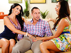 Johnny stops by Ariella Ferreras house to drop off some flowers in celebration for Mothers Day. Ariella is Johnnys friends mom, but he considers her a second mother. Ariellas friend, Ava Addams is also over. She thinks Johnny is kind of cute and wants to