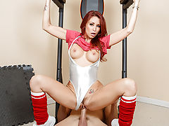 Monique Alexander runs an intense fitness program, the only kind of fat she wants to see is a fat cock like Johnny's. After eight long weeks of her training plan, she can turn any slob into a fit stud. The best part? She's offering up a piece of pussy to