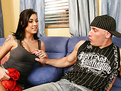 Chayse Evans is a bad ass with a tight ass. Her friends brother came over to pick up his sisters purse after a wild party, but Chayse isnt giving it to him that easy. Instead, shes giving him her ass!!
