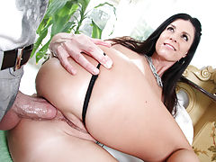 . Mike had India Summer moaning with every stroke of that thick cock. Fucking her hard then busted a huge load of cum for India Summer to swallow