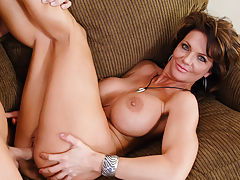 Since Deauxma got divorced, shes been neglecting some important things, like getting her oil changed and getting laid. Lucky for her, Johnny is there not only to poke a dipstick in her car but also to poke this sexy mature lady with his own dipstick ... c