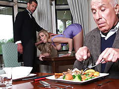 When busty blonde Paige Turnah married crusty old Mr. Warburton, she had only one thing on her mind: his money. In fact, the first thing she did was hire the most well hung butler she could find, Mr. Nailer, to make sure she would always have a fresh supp